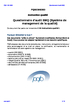 Questionnaire d'audit SMQ (Système de management de la qualité) (instruction qualité 1)