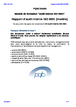 Rapport d'audit interne ISO 9001 (modèle)  (audit interne ISO 9001)