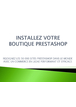 Tutoriel Prestashop