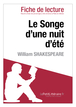 Le Songe d'une nuit d'été de William Shakespeare (Fiche de lecture)