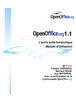 OpenOffice 1.1 - Tutoriel