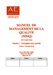 Manuel de management de la qualité