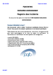 Registre des incidents  (instruction environnement)