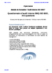Questionnaire d'audit interne SMQ ISO 9001, 179 questions  (audit interne ISO 9001)