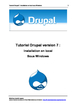 Tutoriel installation de Drupal en local sous Windows