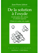 De la solution à l'oxyde : Condensation des cations en solution aqueuse - Chimie de surface des oxydes