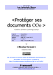 Protéger ses documents Openoffice