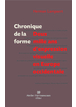 Chronique de la forme ebook