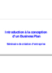Cours business plan