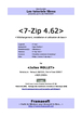 7-Zip 4.62 - Tutoriel